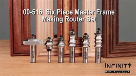 easy picture frames   master frame making router