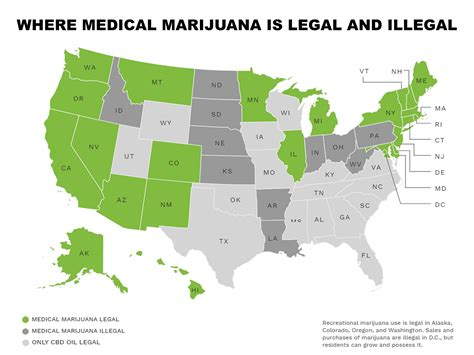 states with legal weed map medical marijuana laws state by state marijuana drug facts
