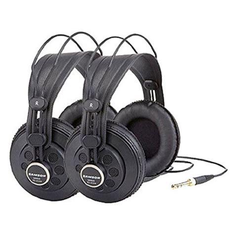 Samson Sr850 Professional Studio Headphones Eceran Diskon samson sr850 professional studio headphones pack dj market