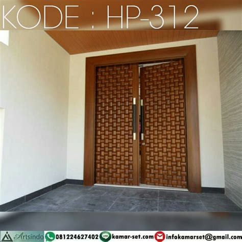 pintu kupu tarung anyaman bambu hp  harga pintu harga pintu