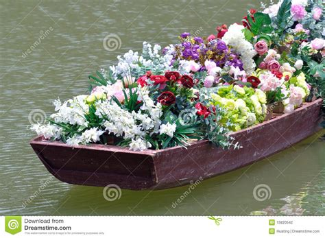 old boat flower bed flowers in old boat stock photography image 15820542