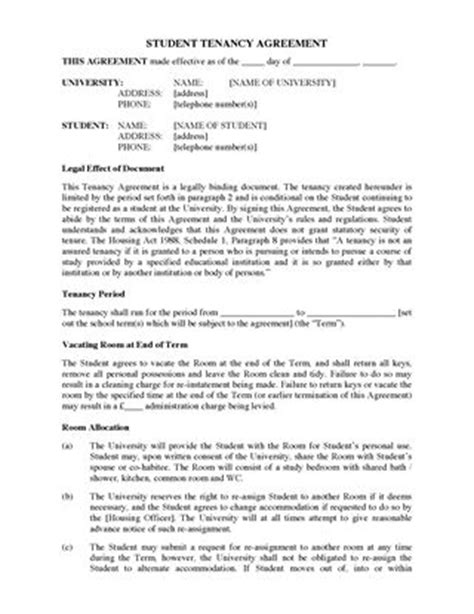 uk tenancy agreement template uk residential tenancy forms forms and business