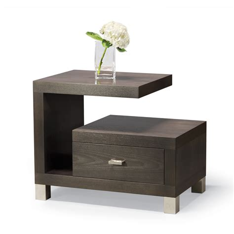 nightstands bedside tables cantilever stand contemporary mid century modern