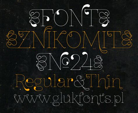 thin decorative font brand new free fonts that will catch your first glance