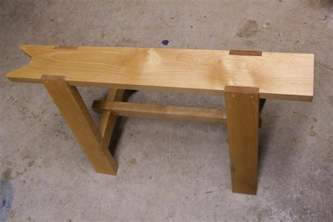 saw benches hand tooled saw bench by dhs lumberjocks com