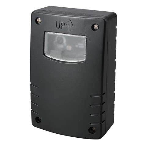 Outdoor Photocell Sensor Black From Litecraft Photo Sensor Outdoor Lighting