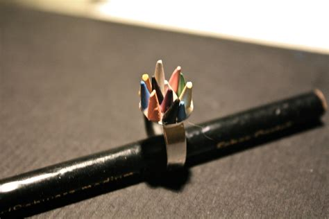 colored pencil ring colored pencil ring 183 how to make a pencil ring