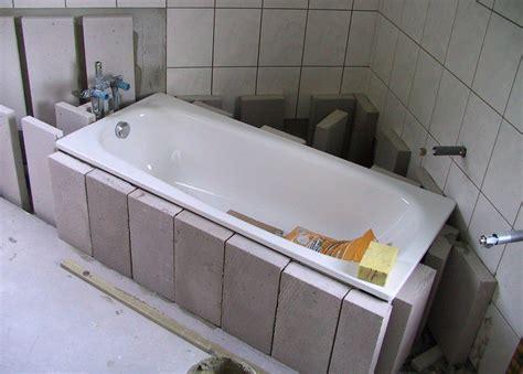 badewanne einbau badewanne einbau schritt f 252 r schritt einfach erkl 228 rt