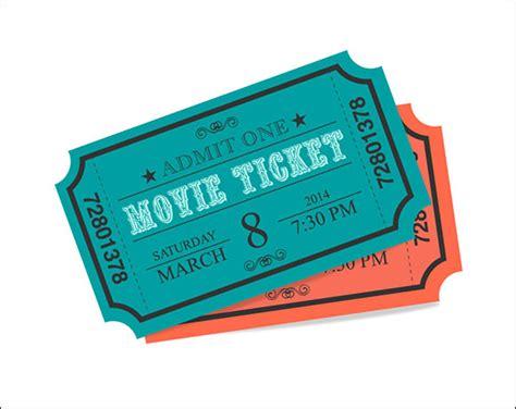 printable ticket templates   sample templates