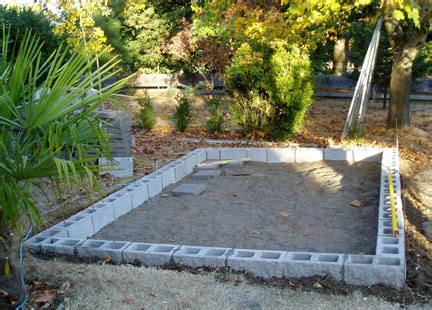 How To Build A Cinder Block Foundation For A Shed by Concrete Block Shed Foundation