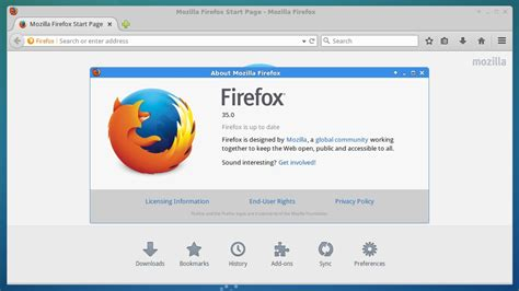 How To Install Firefox 35 On Linux Systems   LinuxG.net Install Firefox