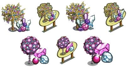 Gaga Pairs With Farmville by Farmville Gagaville Sneak Peek Trees And Pink Gem