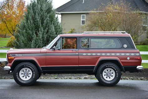 1977 jeep chief no reserve 1977 jeep chief s for sale on bat