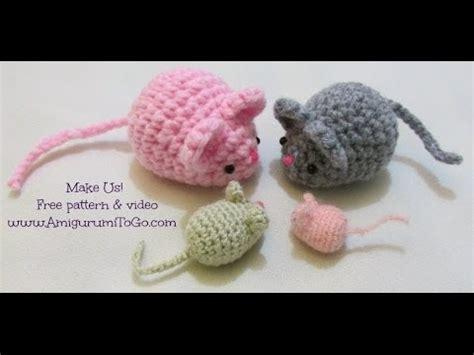 amigurumi mouse crochet along amigurumi mouse