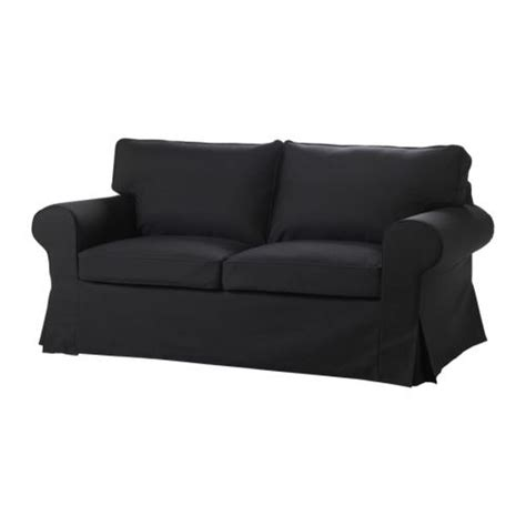 black couch slipcover ikea ektorp sofa bed slipcover sofabed cover idemo black