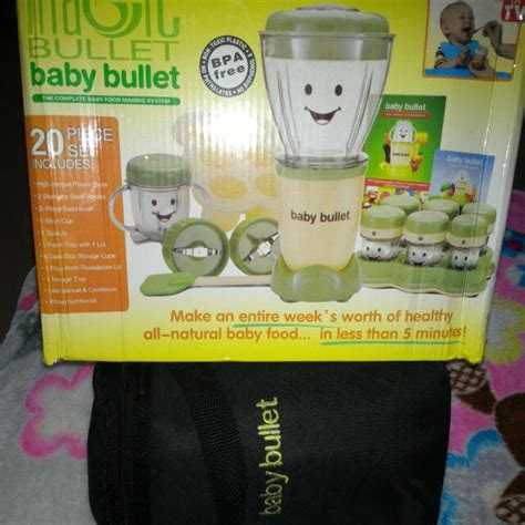 Baby Bullet Food Blender food blender magic bullet baby bullet babies on