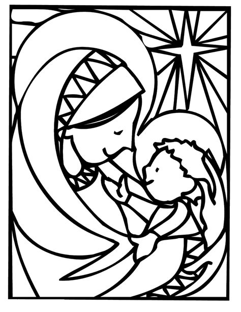 mary mother of jesus coloring pages coloring pages