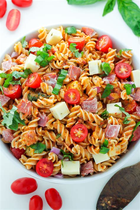 the best creamy italian pasta salad i heart recipes top 50 pasta salads i heart nap time