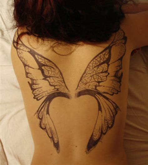 butterfly wings tattoo designs butterfly wing tattoos for on back images