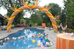 pool decorations pool ideas