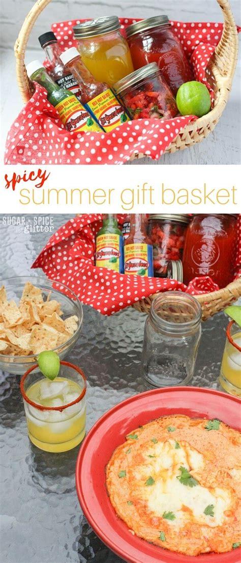 spicy summer gift basket sugar spice and glitter