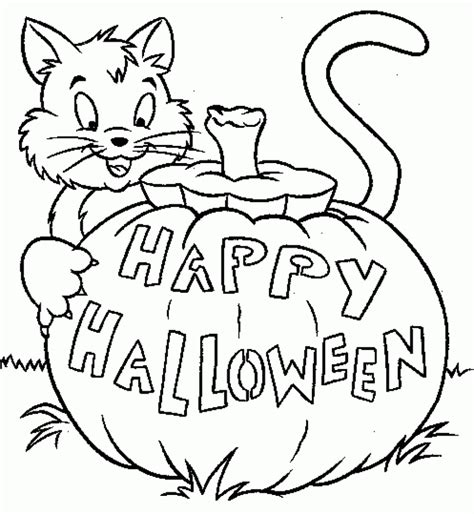 free printable halloween coloring pages for preschoolers
