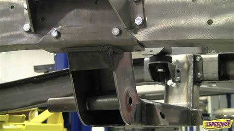 bolt  independent front suspension  speedway motors
