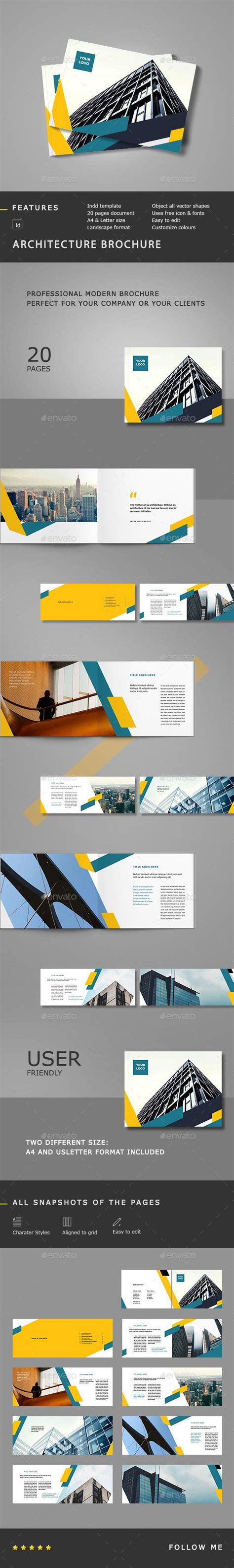 change layout to landscape in indesign 95 best images about brochure inspiration on pinterest