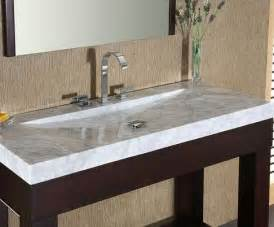 Bathroom Double Sink Tops Integrated Stone Sinks Bathroom Vanities With A Stylish