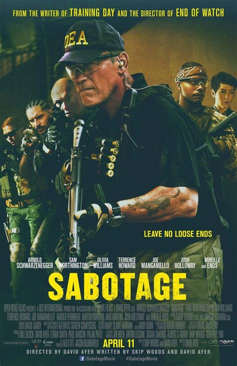 Ans To Be Released by Sabotage Dvd Release Date July 22 2014