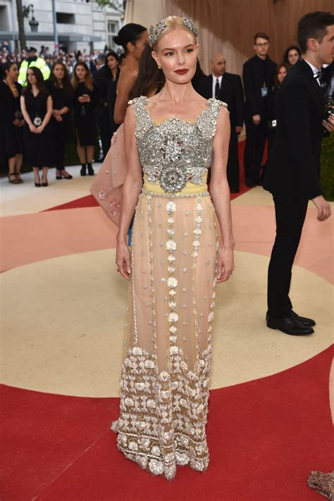 Catwalk To Carpet Kate Bosworth In Dolce Gabbana by The Best Dressed From The Met Gala S 2016 Carpet