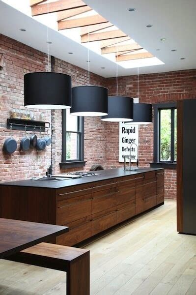 vintage industrial kitchen lighting