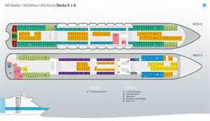 aidadiva kabinen deck 5 aidadiva deckplan deck 5 6 169 aida cruises