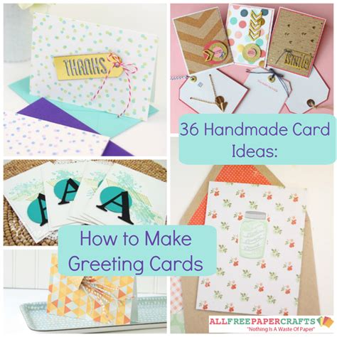 How To Make Handmade Birthday Cards - 36 handmade card ideas how to make greeting cards