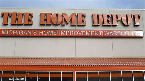 Home Depot Sign In by Omega Electric Sign Company Inc