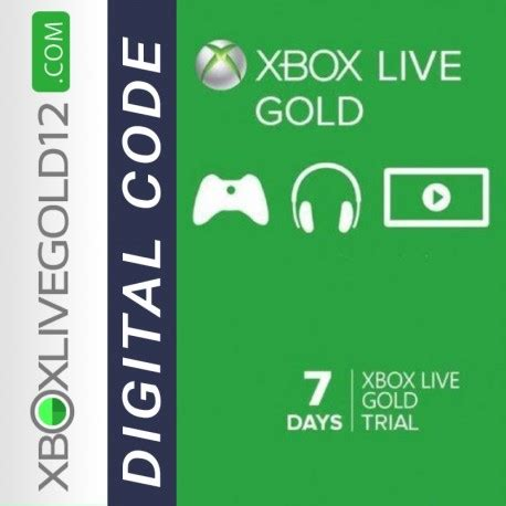 xbox 7 day trial free xbox live trial 7 days digital code global