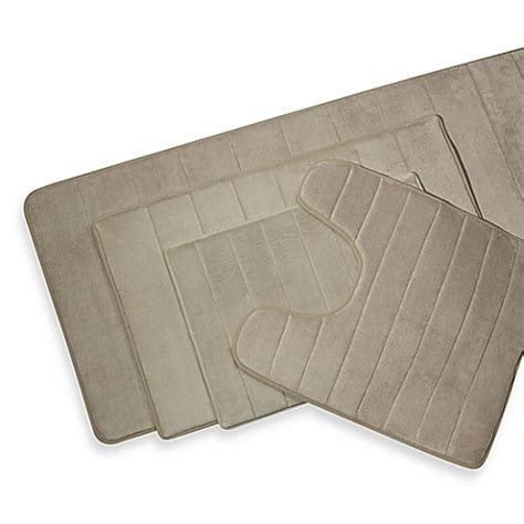 Memory Foam Contour Bath Rug Microdry 174 Ultimate Performance The Original Memory Foam Contour Mat Bed Bath Beyond