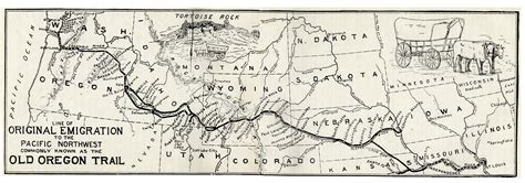 map of oregon trail through kansas and square endings 8 the oregon trail