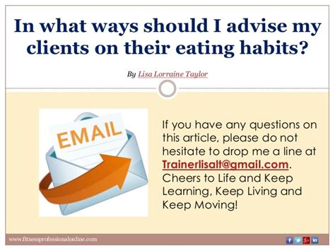 Should I Advise For Distance Mba by In What Ways Should I Advise My Clients On Their Habits