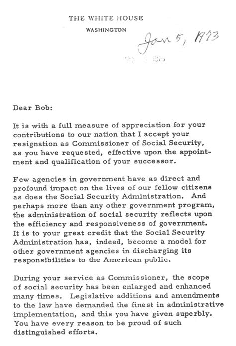 Resignation Letter Sle Security Guard Social Security History