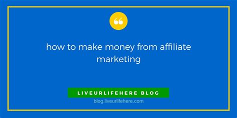 affiliate marketing how to make money and build your own 100 000 affiliate marketing business passive income clickbank affiliate affiliate program books how you can easily make money from affiliate marketing