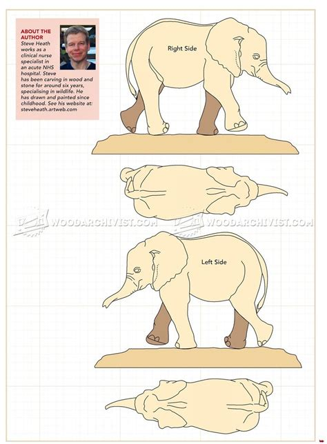 wood elephant pattern image of 248 elephant carving wood carving patterns