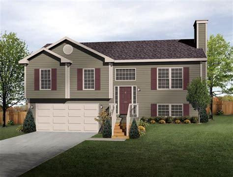 split level style split level house plan exterior colors diy home improvement exterior colors