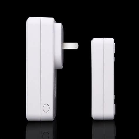 Cacazi A8 Bel Pintu Wireless Remote Doorbell Led 48 Tune 1pcs Receiver cacazi a8 bel pintu wireless remote doorbell led 48 tunes 1pcs receiver black