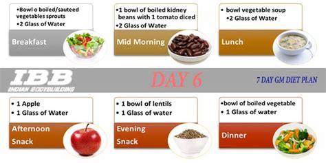 Gm Detox Diet Vegetarian by Diet Plan Indian Vegetarian Diet Plan