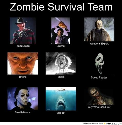 Zombie Team Meme - zombie weapons for sale zombie survival team meme