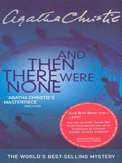 0007136838 and then there were none and then there were none by christie agatha