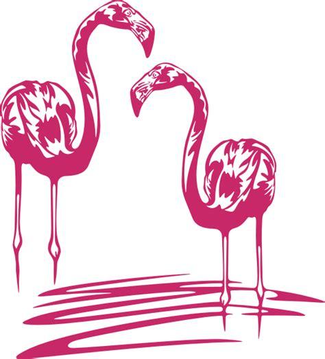 Flamingo Wandtattoo Kinderzimmer dekortattoo de wandtattoos wandspr 252 che wanddeko