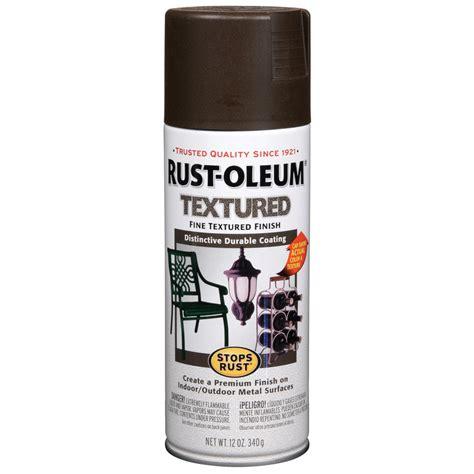 shop rust oleum 12 oz brown spray paint at lowes