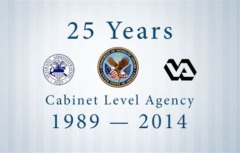 Cabinet Level Agencies 25 Years Of Va 25 Facts You May Not Vantage Point
